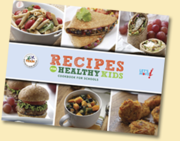 Recipes for Healthy Kids Cookbook!